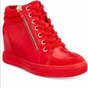 Aldo Red Kaia Sneakers